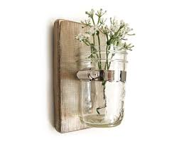perfect ideas wall vase sconce modern decorting room simple glass mounted transparant with flower beautiful accessories