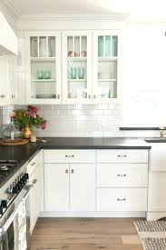 black and white kitchen backsplash ideas. White Subway Tile Kitchen Backsplash Ideas Best On Cabinets Black And With Grout S