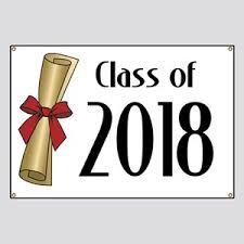 2018 Graduation Banners Cafepress
