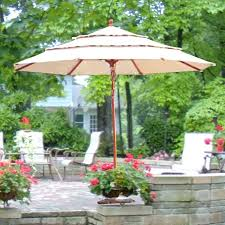 elegant sunbrella patio umbrella for wooden