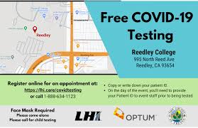 Such testing must be covered without cost sharing, prior authorization, or other medical management requirements imposed by the plan or issuer. Covid 19 Testing Sites County Of Fresno