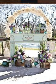 Paper Flower Archway Beautiful Ceremony Decor Inspiration Aisle Arches Chic
