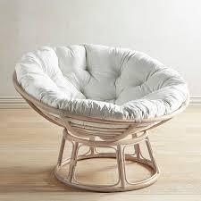 Papasan Whitewash Chair Frame Stone Wash