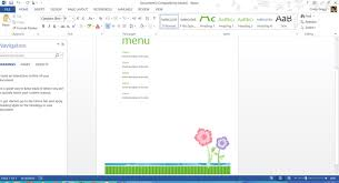 Mother S Day Menu Template Free Printable Microsoft Office Templates For Mothers Day