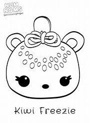 Image Result For Num Noms Only Coloring Pages Erynns 7th Bday