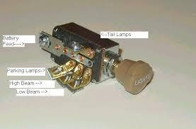 headlight dimmer switch position tan knob traditional hot headlight dimmer switch 4 position tan knob traditional hot rod