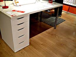 Rack White Desk With Drawers On Both Ideas And Ikea Build Your Own Picture  Sides