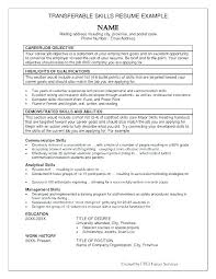 List Of Job Skills For Resumes Skills For Resumes Examples Thrifdecorblog Com