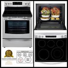 stove kenmore. kenmore 5.7cu.ft. stainless steel ceramic glass cooktop selfclean electric range stove
