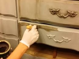 chalk paint furniture diyDIY How to Dark Wax Chalk Painted furniture  YouTube