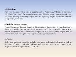 professional e mail presentation 9 3