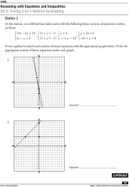 reasoning with equations and inequalities pdf math worksheets go 2 practice answers