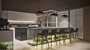 Office Kitchen Office Kitchen Design Rendering In Chocolate Hues Archicgi