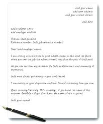 Example Covering Letter Uk Application Cover Letter Resume Cover