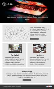 Newsletter Format Examples Free Printable Newsletter Templates Examples Lucidpress