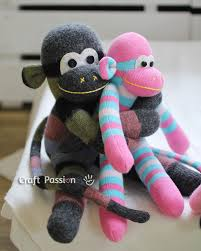 Sock Monkey Pattern Mesmerizing Sock Monkey Free Sewing Pattern Craft Passion
