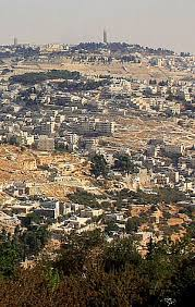 """pray for you watchmen on the walls of jeru m facts half the mountain moving north and half moving south generating """"a very large valley reaching to azal"""" zech 14 4 5 azal be several km south of"""