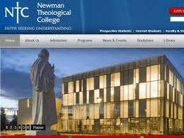 Image result for Photos Newman Theological College Canada