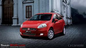 new car launches team bhpFiat launches prefacelift Punto as Punto Pure at the Auto Expo
