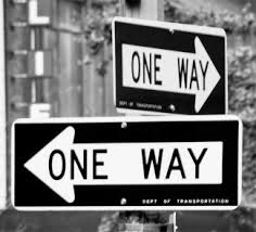 Image result for one-way streets