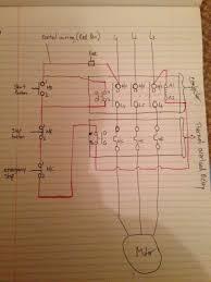 direct online starter wiring diagram wiring diagram direct on line starter circuit diagram electronic