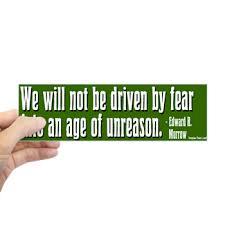 Progressive Get A Quote Amazing Edward R Murrow Quote Bumper Bumper Sticker Defending Liberty