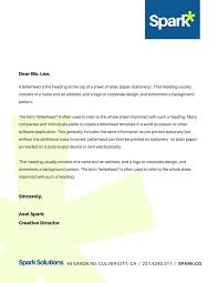 Corporate Company Business Letterhead Templates By Canva