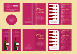 Free Wine List Template Download Classic Templates And Wine List Download Free Vector Art Stock