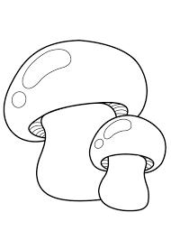 30 Disegni Di Funghi Da Colorare Pianetabambiniit