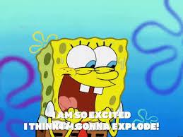 spongebob exploding gif. Exellent Gif Im So Excited Season 4 GIF By SpongeBob SquarePants In Spongebob Exploding Gif D