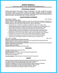 nice Perfect Correctional Officer Resume to Get Noticed,