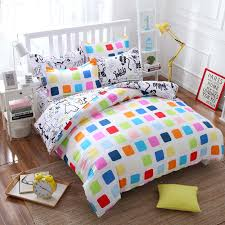 summer style cotton bedding sets super soft owl twin full queen king nordic style comforter duvet cover bed sheet pillowcase bedding net