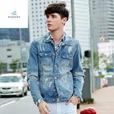 Light Blue Jeans Men S Style China New Style Men Long Sleeve Light Blue Denim Jackets