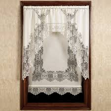 Quality Net Sheer Lace Window Panel Blind Curtain Fly Screen Slot Lace Window Blinds