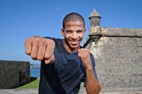 Boxing phenom, FELIX VERDEJO training ...