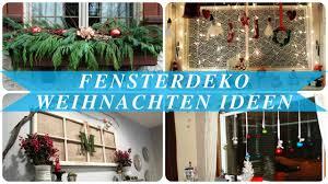 Fensterdeko Weihnachten Ideen