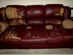 table couch bonded leather loveseat angle png