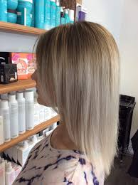 Ash Blonde Babylights Highlights Hair Colour