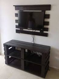 homemade modern diy media console tv stand ideas
