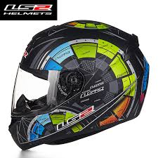 new ls2 ff352 full face motorcycle helmets ece approved racing