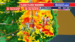 July 9, 2021: Flash flood watch ...