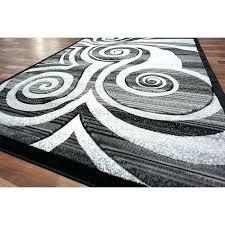 modern area rugs circle swirls area rug modern rug silver swirls grey black stripes cool