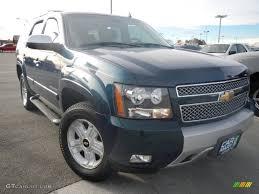 2007 Bermuda Blue Metallic Chevrolet Tahoe Z71 4x4 #74095776 ...
