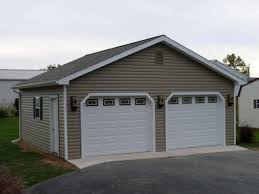 2 Car Garage Designs 24x24 2 Car Garage Pine Creek Structures Car Garage