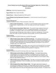 Resume For Auto Mechanic Best Automotive Technician Resume Example