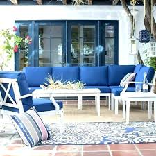 outdoor furniture with blue cushions patio furniture with blue cushions white outdoor patio sectional furniture set 8 chairs tables blue cushions