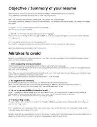 Good Resume Summary Statement Samples Unusual Example