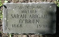 Sarah Abigail Weaver O'Brien (1867-1931) - Find A Grave Memorial