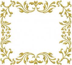 frame design. Fine Design Floral Frame Embroidery Design With Design P