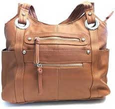 roma leather locking concealment purse ccw concealed carry shoulder bag